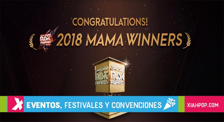[Kpop] Ganadores de los MAMA 2018 en Hong Kong