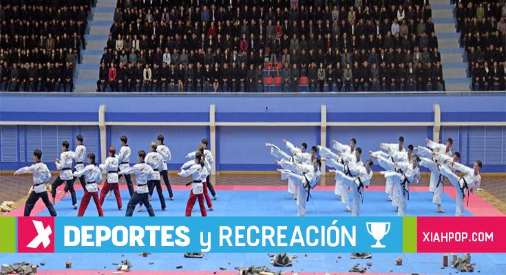 Las dos Coreas unidas para una actuación de taekwondo en Suiza