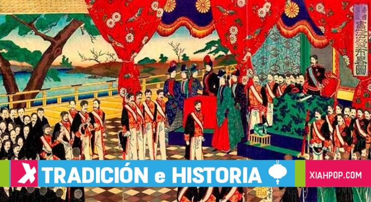 Historia de Japón: su apertura al Occidente