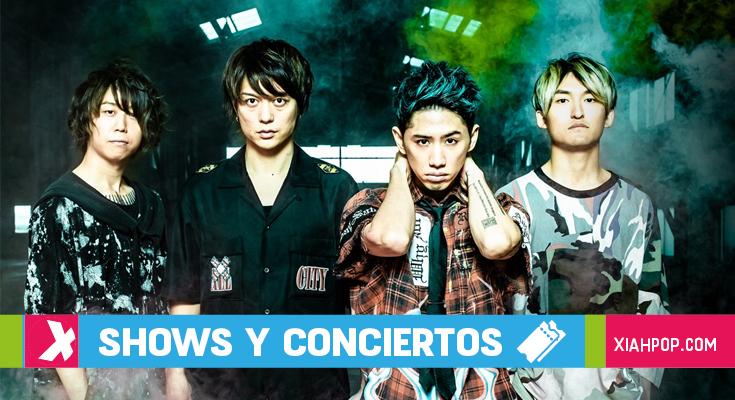 ONE OK ROCK regresa a México con su tour «Eye Of The Storm»