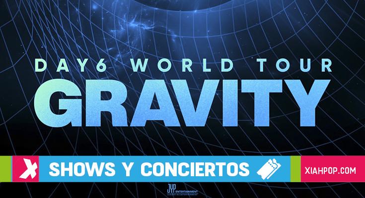 Day6 anuncia su gira mundial «DAY6 WORLD TOUR GRAVITY»