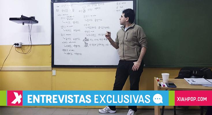 [Entrevista] Un argentino enseñando idioma coreano en Buenos Aires
