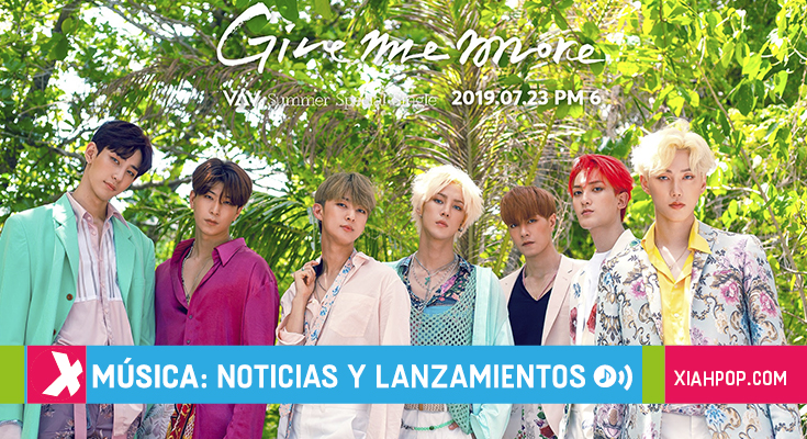 "VAV anticipa su single verano ""Give Me More"" de concepto latino"