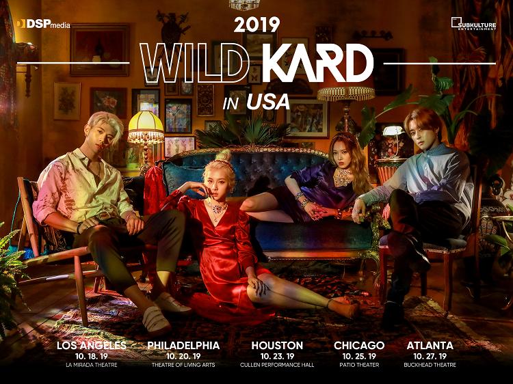 KARD anuncia WILD KARD TOUR IN USA