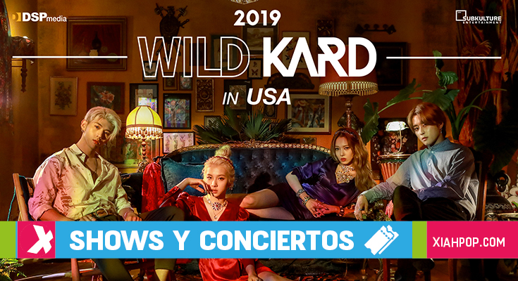 KARD anuncia WILD KARD TOUR IN USA