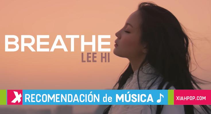 """[Kpop] 5 covers de """"Breathe"""" de Lee Hi"""