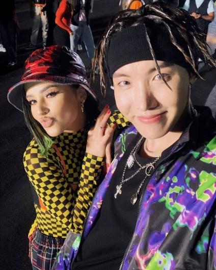 """J-HOPE de BTS se une a Becky G para """"Chicken Noodle Soup"""""""