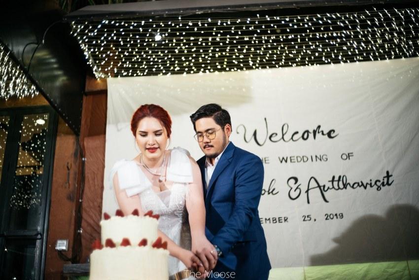 Boda legendaria: tailandesa invita a sus ex-novios a la fiesta