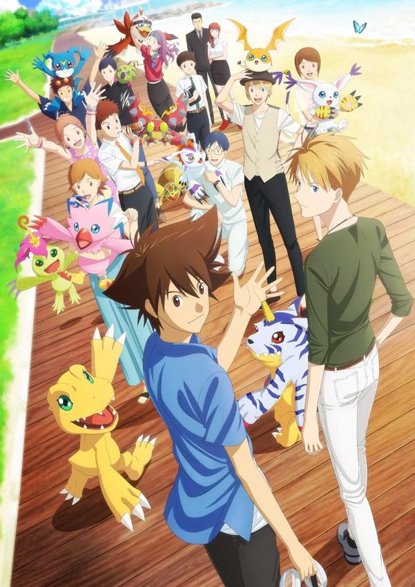 Digimon Adventure: last evolution kizuna reúne a todos los niños elegidos