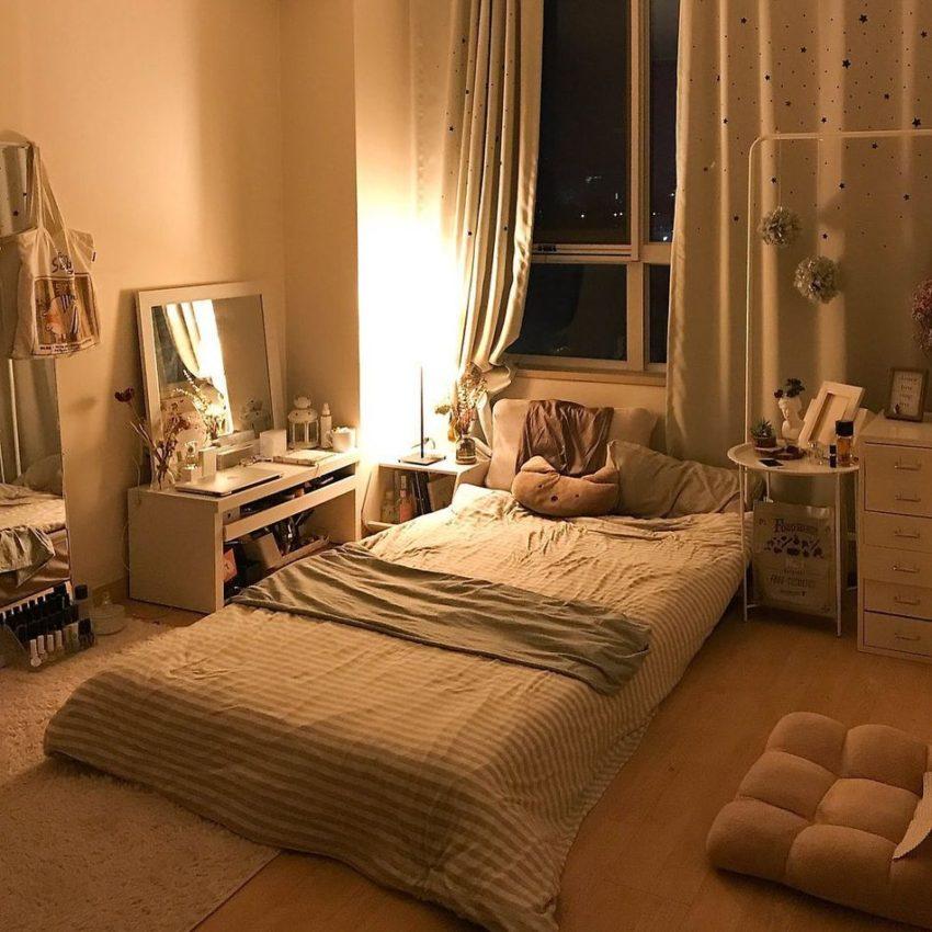 Asian Chic: cama