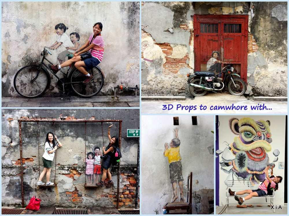 swing chair penang glass pub table and chairs wall murals | 霞女之旅