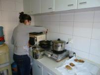 Prepping latkes