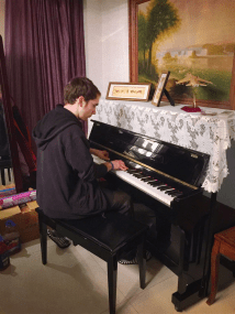 Me forgetting how to play the piano