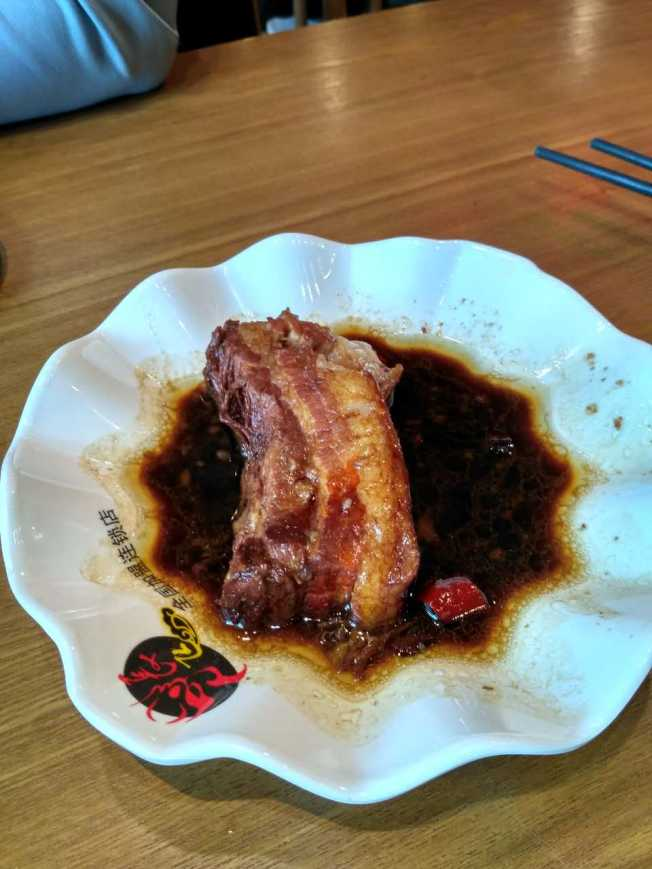 (This one I didn't make) Stewed pork belly, so good, so bad.