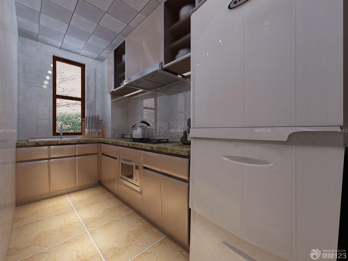 kitchen cabinet styles refacing cost 2015小厨房简约风格厨柜设计案例大全 设计456装修效果图