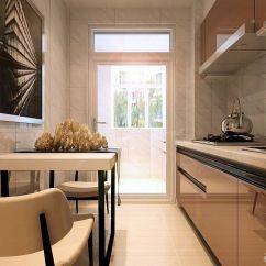Small Kitchen Table Set Cabinet Photos 一室一厅一厨一卫厨房小餐桌装修效果图 设计456装修效果图