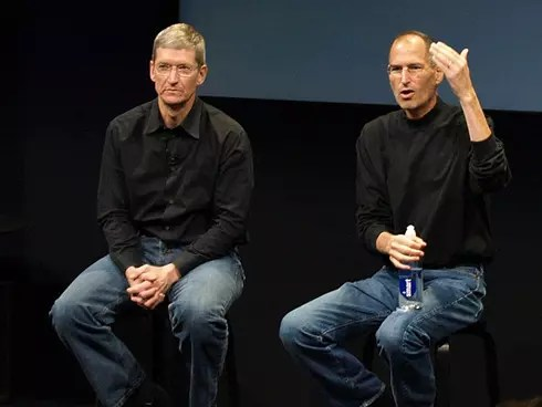 Tim-Cook_Steve-Jobs