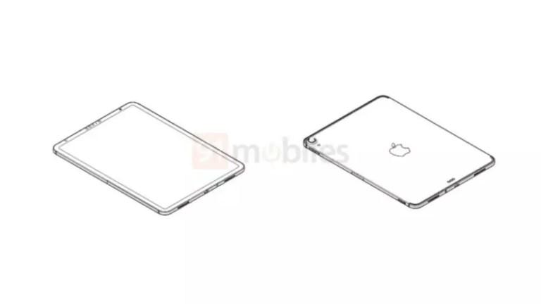 iPad Air 4 Leaked drawings