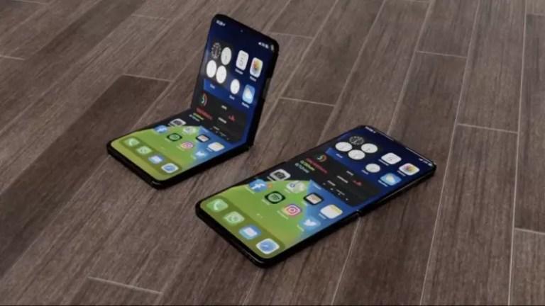 折りたたみ型iPhone コンセプト