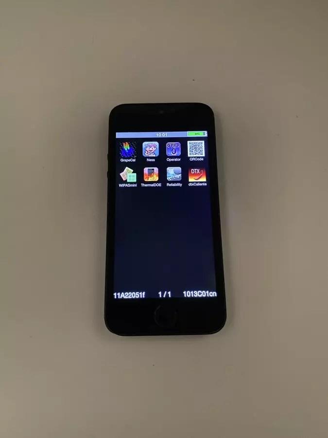 iPhone 5s プロトタイプ