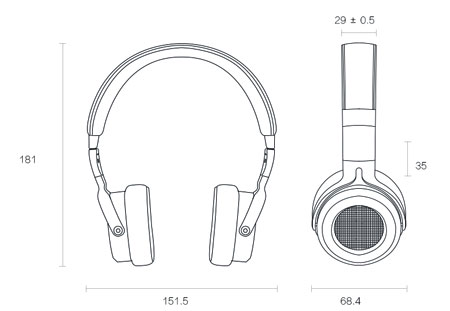 Xiaomi Mi Headphones Silver/White in London and United