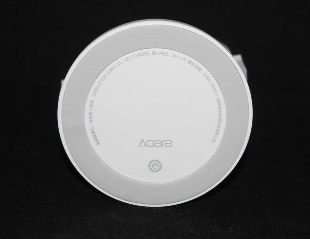 Характеристики камеры Aqara под подставкой