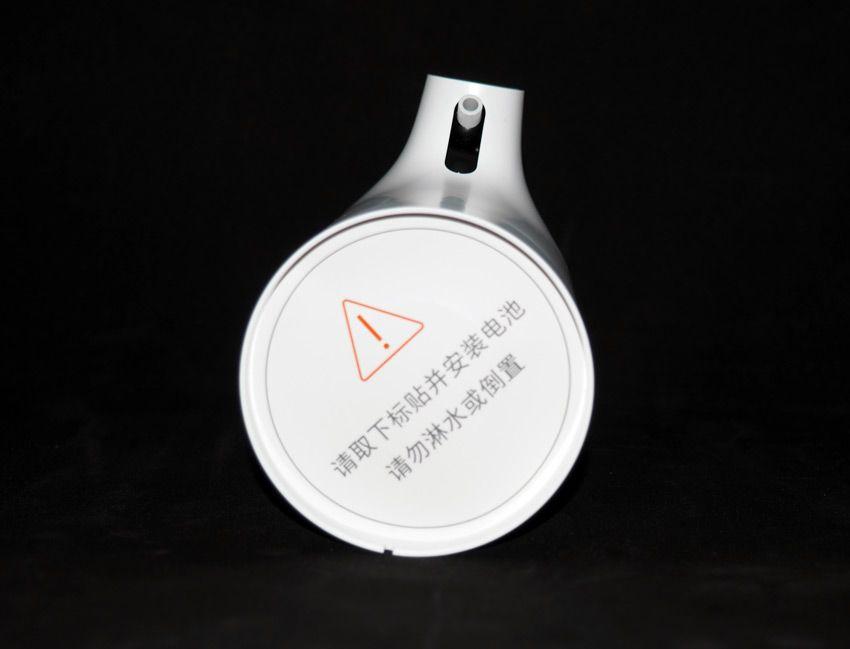 Диспенсер Xiaomi предупреждение