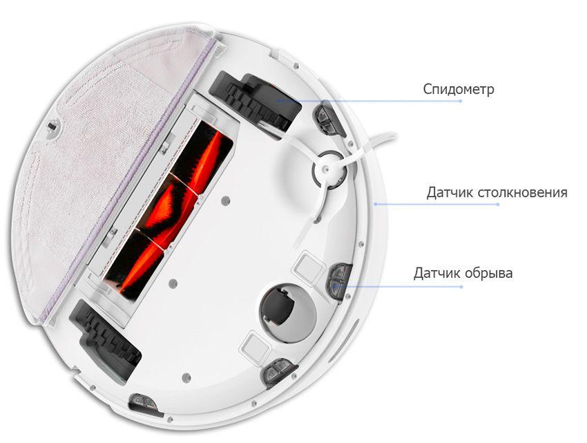 Датчики моющего робота пылесоса Xiaomi