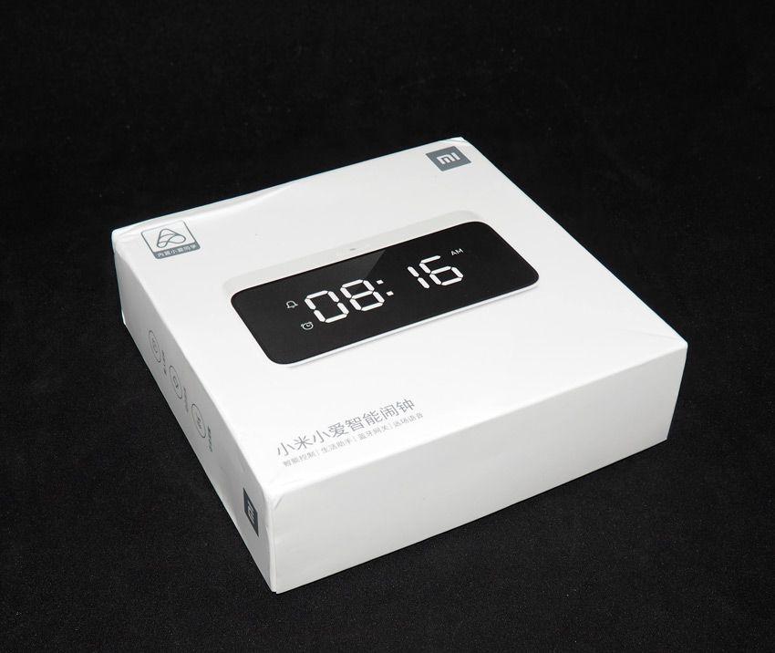 Коробка от будильника Xiaomi