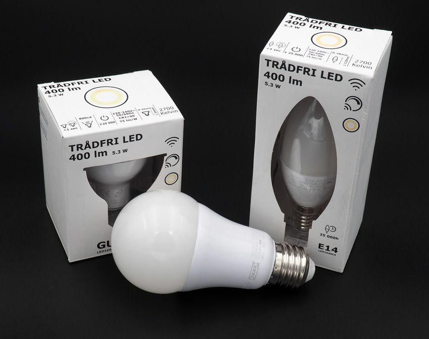 Умные лампочки ИКЕА
