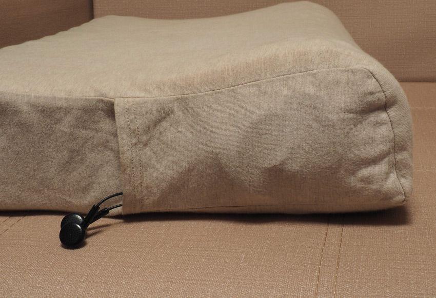 Кармашек в подушке