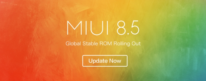MIUI 8.5 Stable ROM Update
