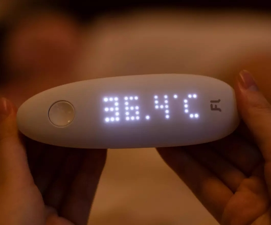 Fanmi infrared smart ear thermometer
