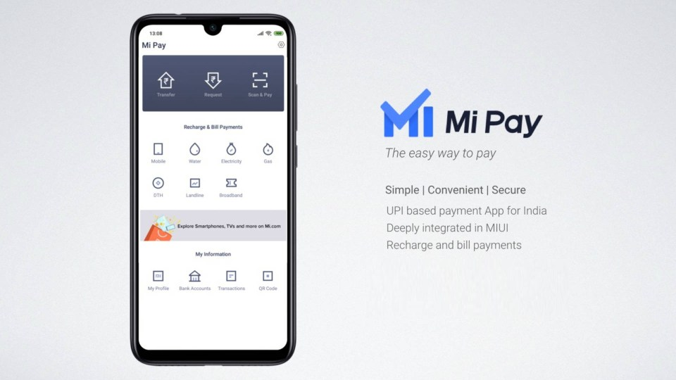 Xiaomi Wallet Mi Pay