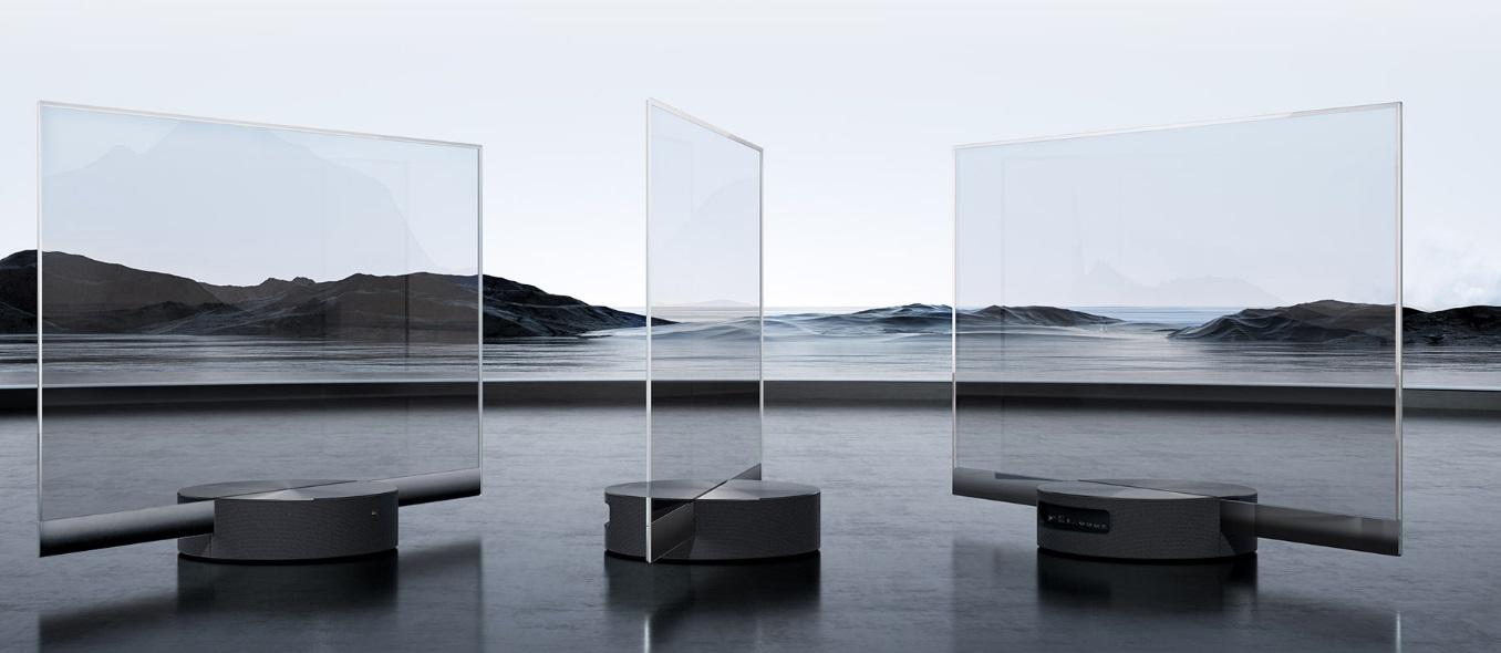 Xiaomi Mi Master OLED transparent TV