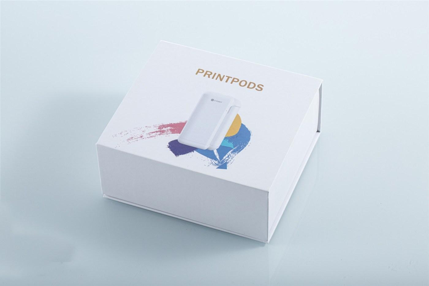 PrintPods handheld DIY printer