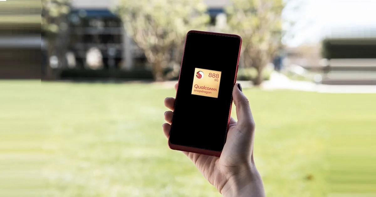 Snapdragon 888 smartphone