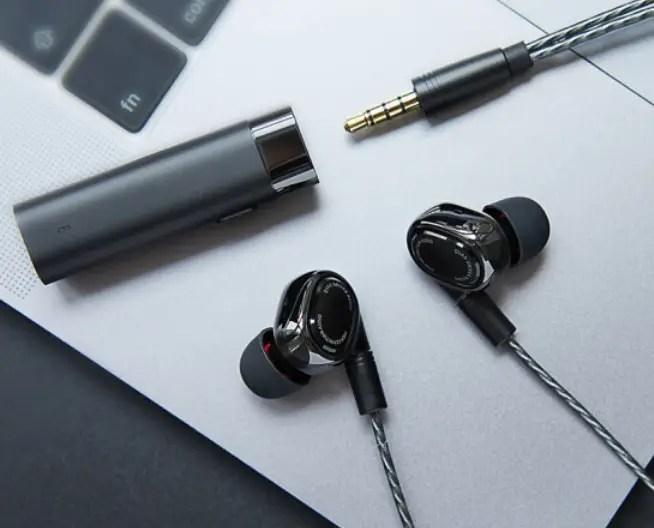 Xiaomi ring iron four-unit headset