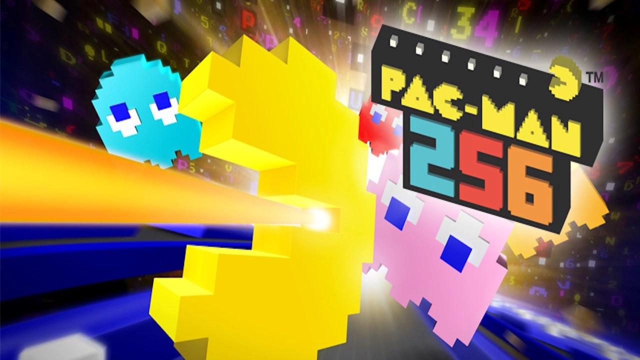 PAC-MAN 256 endless maze