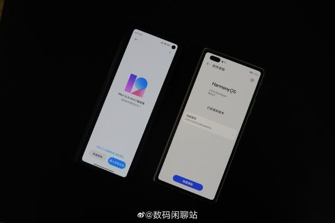 Xiaomi MIX Fold vs Huawei Mate X2