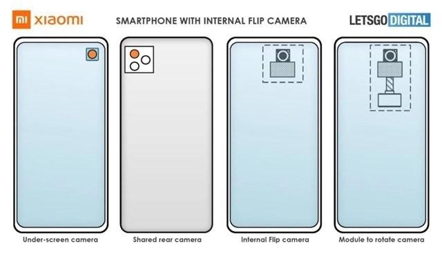 Xiaomi under-screen camera flip