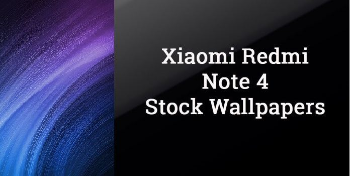 Download the Redmi Note 4 stock wallpaper collection here (for any phone)