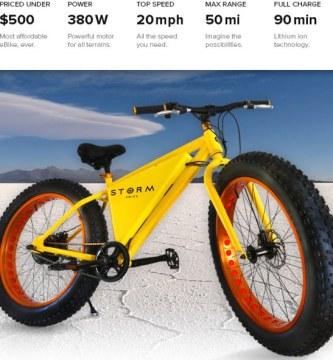 bicicleta electrica economica