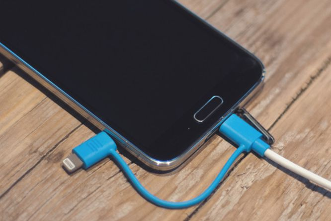 cable adaptador android y apple