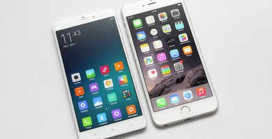 Xiaomi M5 vs iPhone 6s