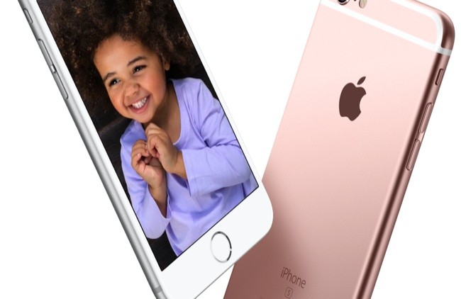 iphone 6s plus pink gold
