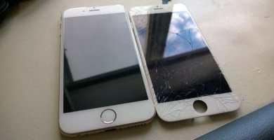 Cuanto cuesta cambiar la pantalla rota de un iPhone