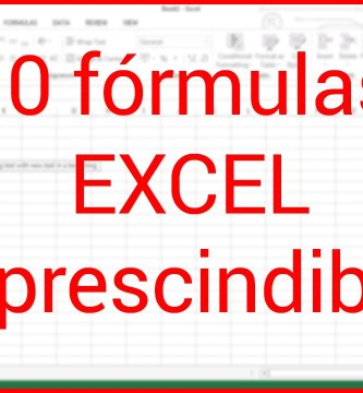 mejores formulas de excel
