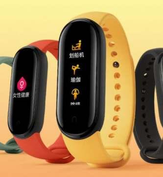 Xiaomi pulsera de actividad