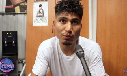 Mikey Garcia wants Errol Spence at 147
